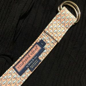 Vineyard Vines Accessories - Vineyard Vines Belt Men's L Whale Logo